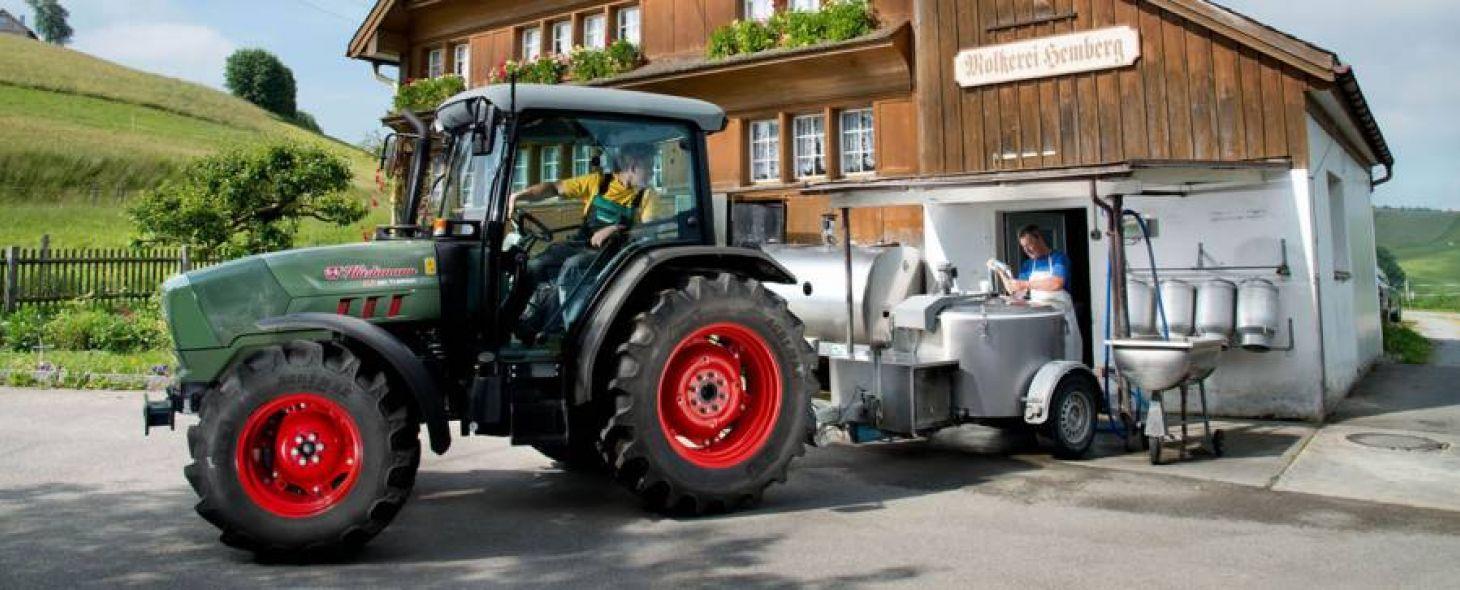 Tractor XA T4i - Huerlimann Tractors