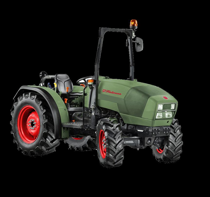 Traktor XF Spirit - Huerlimann Tractors